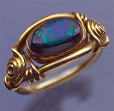 Gorgeous wire ring