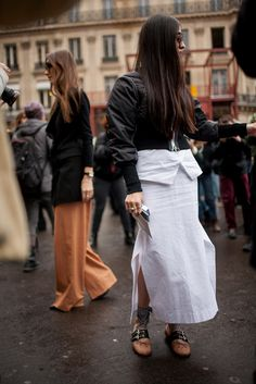 They Are Wearing: Paris Fashion Week Fall 2016