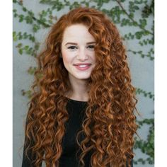 Riverdale's Madelaine Petsch Rocks Curly Red Hair For New 'Redhead... ❤ liked on Polyvore featuring madelaine petsch