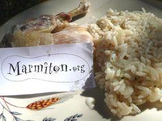La poule au riz de la mère michèle - Recette de cuisine Marmiton : une recette