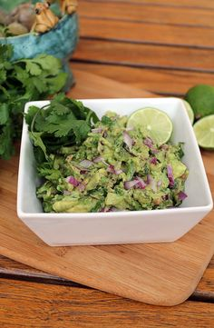 Guacamole Shared on https://www.facebook.com/LowCarbZen | #LowCarb #Snacks #Dip