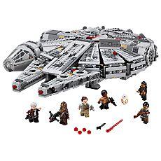 Ensemble LEGO 75105 Faucon Millenium de Star Wars