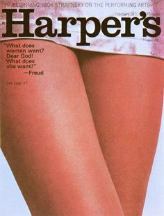 cMag229 - Harper´s Magazine cover by Henry Wolf / February 1970