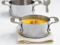 Roasted Poblano Corn And Potato Soup.  (add 6 ears of roasted corn to recipe)