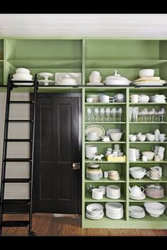 Lovely colours & storage