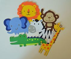 Safari Animal Party Banner by o75andSunnyo on Etsy, $6.00