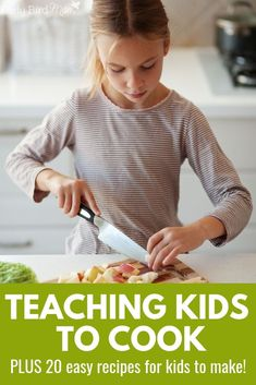 Do your kids love to help in the kitchen? Have your kids give these 20 easy and fun recipes a try! They will love making these healthy snacks, lunches, and dinners. #earlybirdmom #easyrecipes #kids #recipesforkids #easyrecipesforkids #teachingkidstocook