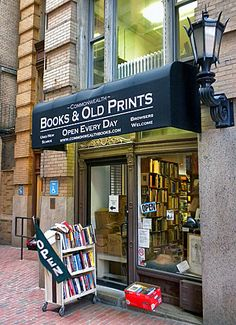 COMMONWEALTH BOOKS & Old Prints, Boston, MA