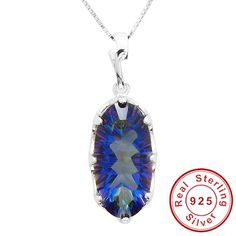 HUGE 11ct Genuine Rainbow Fire Mystic Topaz Pendant  Only $38.8 => Save up to 60% and Free Shipping => Order Now!  #Bracelets #Mystic Topaz #Earrings #Clip Earrings #Emerald #Necklaces #Rings #Stud Earrings  http://www.gemstonese.com/product/huge-11ct-genuine-rainbow-fire-mystic-topaz-pendant/