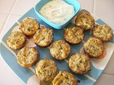 Healthy Lunch Recipes: Mini Shrimp & Crab Cakes - Protein Packed Low Carb