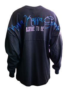 Kappa Kappa Gamma Aspire Spirit Jersey by Adam Block Design | Custom Greek Apparel & Sorority Clothes | www.adamblockdesign.com