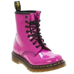 Dr. Martens Women's 1460 8-eye Pink Patent Lace-up Boot