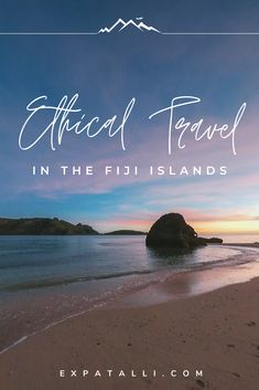 A Guide to Ethical Travel in Fiji - Beyond the luxury resorts and cheerful smiles is a country that is still in need of so much. This guide will give you some ethical travel tips so you can help give back while you travel Fiji! Travel To Fiji, Asia Travel, Solo Travel, Beach Travel, Travel Advice, Travel Tips, Travel Books, Travel Checklist, Travel Videos