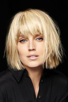 Choppy and Wavy Lob - 60 Inspiring Long Bob Hairstyles and Long Bob Haircuts for 2019 - The Trending Hairstyle Haircut Trends 2017, Hair Trends, Long Bob Haircuts, Short Bob Hairstyles, Blonde Hairstyles, Hairstyles Men, Hot Hair Styles, Medium Hair Styles, Medium Blonde Hair