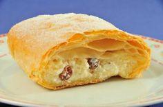Túrós Rétes | Cheese Strudel - Hungarian Food - Hungarian Food Recipes