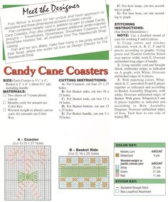 Candy Cane Coaster 2/3