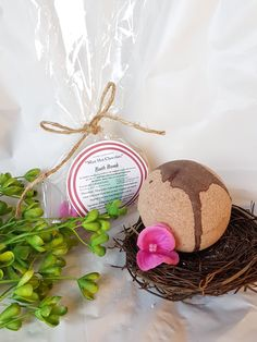 Aromatherapy Natural Bath Bombs, organic no dyes.