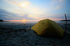 Campsite on Nels Bight - Cape Scott Trail Guide by Lonny Barr Trail Guide, Vancouver Island, Archipelago, Campsite, Hiking Trails, West Coast, Wilderness, Wander, Places To Go