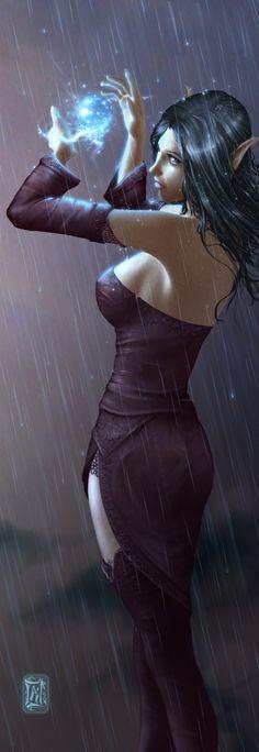 Elfe des orages