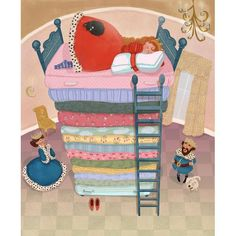 The Princess and the Pea. Colleen Madden