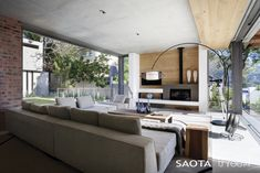 Amazing Home: Incredible Modern Glen 2961 House by SAOTA, Cape Town, South Africa © Adam Letch Here it is! Another masterpiece of modern ar. Architecture Design, Wood Interior Design, Courtyard House, Futuristic Furniture, Minimalist Living, Minimalist Design, Cabana, Home And Living, Modern Living