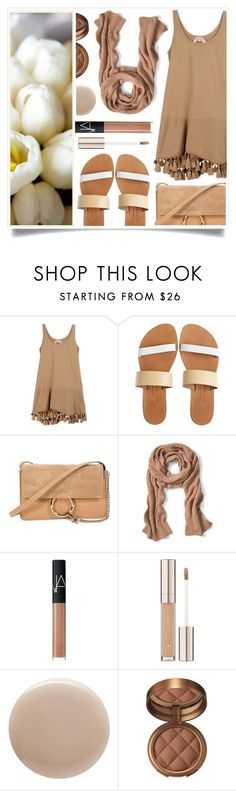 """Steal"" by racanoki ❤ liked on Polyvore featuring N°21, Isapera, Chloé, Banana Republic, NARS Cosmetics, Oribe, Laura Geller and RaCaNoKi"