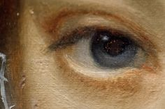 Art Institute of Chicago - left eye detail from Portrait of a Young Lady by Paulus Moreelse, c. 1620.jpg