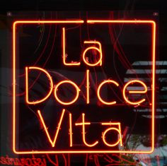 """""""La Dolce Vita"""" [The Sweet Life] -=- Restaurant Located in 'Little Italy' in Cleveland, Ohio"""