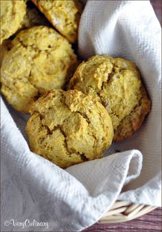 These Pumpkin Biscuits are easy, moist, and super delicious, with all the flavors of Fall.