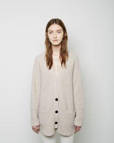 Proenza Schouler / Oversized Cashmere Cardigan