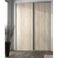 Porte De Placard Emotion Collection Aluminium SOGAL TANGUY - Porte placard coulissante jumelé avec serrurier 78