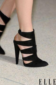 Sexy black heels