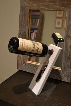 Balancing Wine Bottle and Wine key Holder