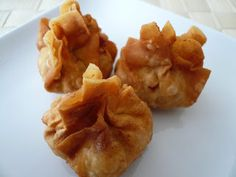 My Kitchen Snippets : Fried Wontons
