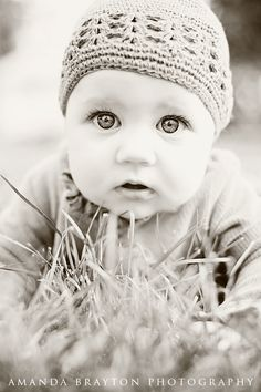 www.AmandaBraytonPhotography.com    baby girl, bright eyes, photography, portraits, outdoor photos, 5 months old, Mabel