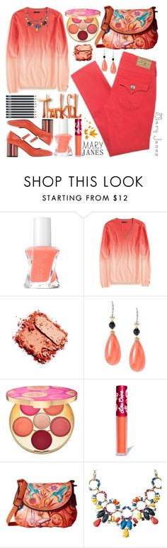 """""""Sweet Mary Janes"""" by grozdana-v ❤ liked on Polyvore featuring Essie, Tommy Hilfiger, Michael Valitutti, tarte, Lime Crime, Anuschka, John Lewis, NARS Cosmetics and maryjanes"""
