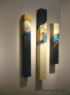 pylons - KAREN JACOBS contemporary and abstract paintings: