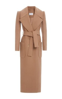 Carven Long Belted Coat by Carven for Preorder on Moda Operandi Blazer 43cf544fbe6