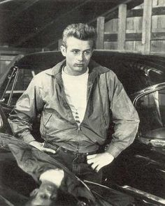 James Dean - His greaser look attracted me the most but his personality made me love him even more!