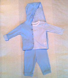 Conjunto camiseta + pantalón + chaqueta / 1 mes [MJ]