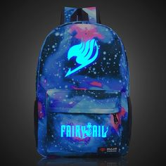34.66$  Watch now - http://ali6uy.shopchina.info/1/go.php?t=32628991924 - Harajuku Fairy Tail Stars Universe Space Printing Shoulder Bags Men's Women's Backpacks Teenagers Students Rucksack Schoolbag  #aliexpresschina