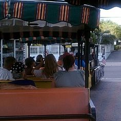 The Conch Train is a great way to see Key West. #KeyWest #travel #florida
