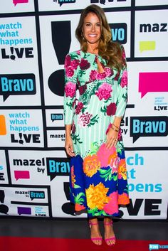KELLY KILLOREN-BENSIMON - Dress: Marc Jacobs; Shoes: Charlie