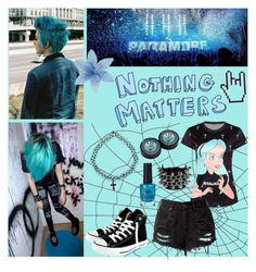 """Nothing Matters"" by beadances ❤ liked on Polyvore featuring Anastasia Beverly Hills and Converse"