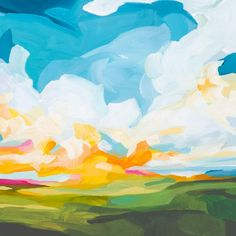 Abstract Nature, Abstract Landscape Painting, Landscape Art, Landscape Paintings, Impressionist Paintings, Landscapes, Contemporary Abstract Art, Colorful Abstract Art, Nature Paintings