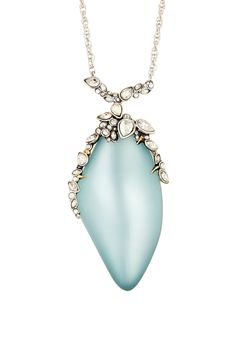 Alexis Bittar | Jagged Edged Crystal Capped Pendant Necklace | Nordstrom Rack