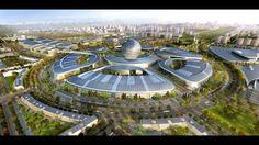 EXPO MAIS VERDE vai tomando forma no Cazaquistão (com FOTOS)  MATÉRIA COMPLETA COM FOTOS  www.polpatec.blogspot.com.br
