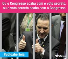 #votoabertoja