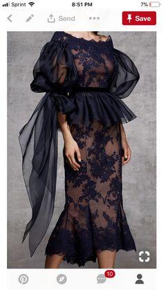 So beautiful – Moda-Creative thinking Trend Fashion, Fashion Moda, High Fashion, Fashion Show, Fashion Design, Women's Fashion, Fashion Black, Pretty Dresses, Beautiful Dresses