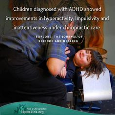 Some studies show Chiropractic Care can offer healthy adjustments in children diagnosed with ADHD. Try chiropractic choices for your child at Central Avenue Health Centre. Learn more about ADHD and treatment choices. http://icpa4kids.org/Wellness-Articles/attention-deficit-hyperactivity-disorder/All-Pages.html